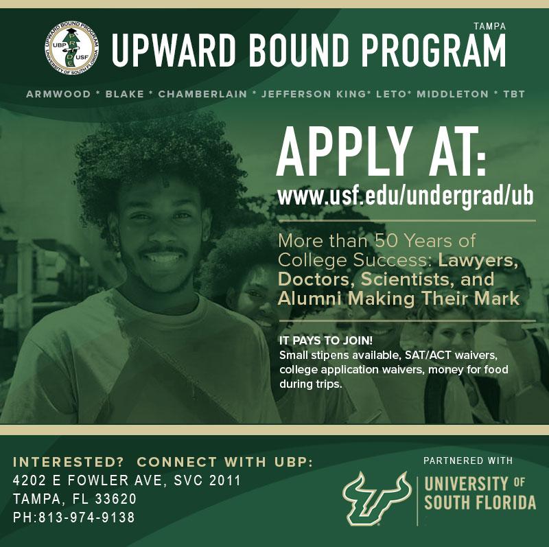 Upward Bound Program Application